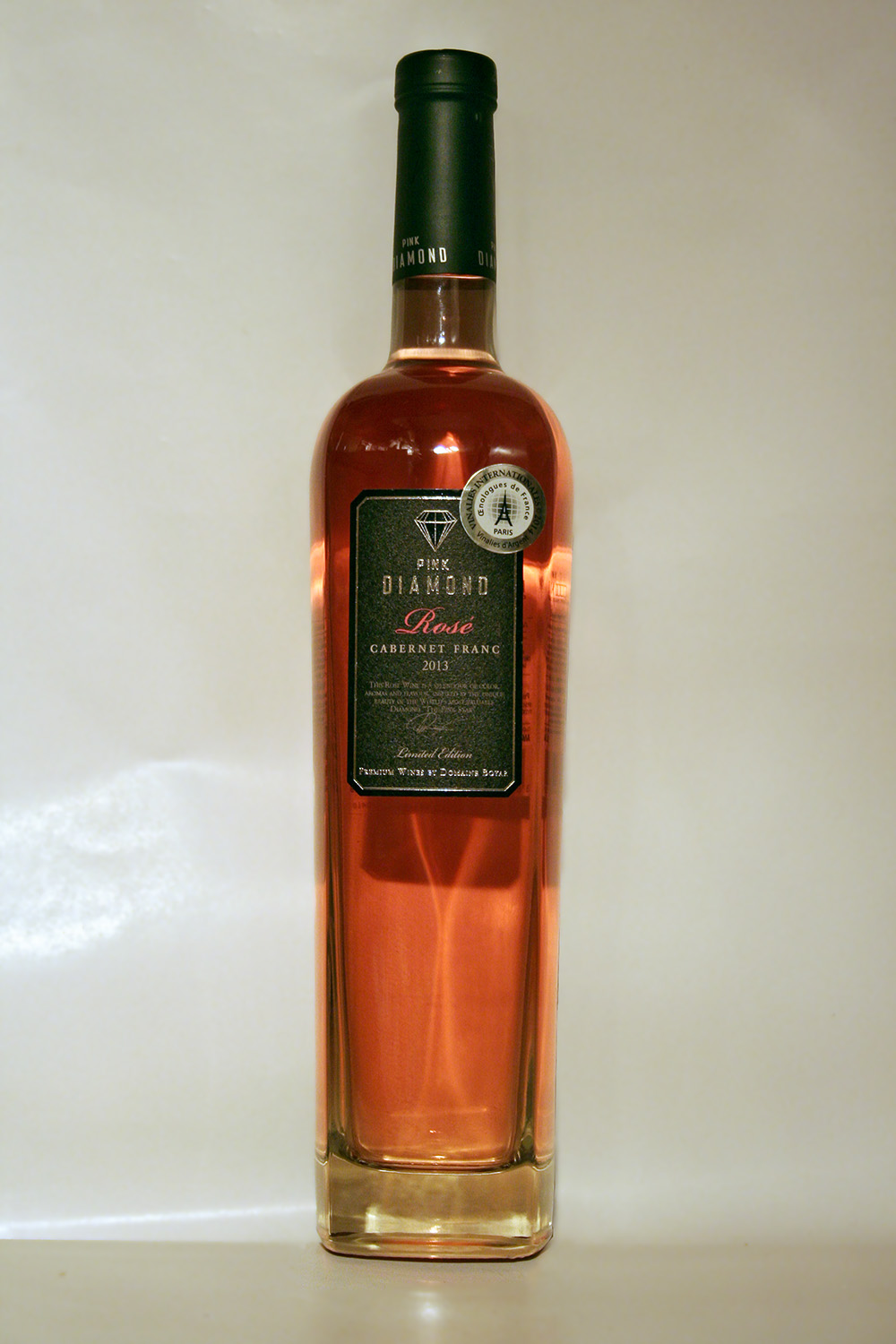 Pink diamond rosé cabernet franc limited edition 2013