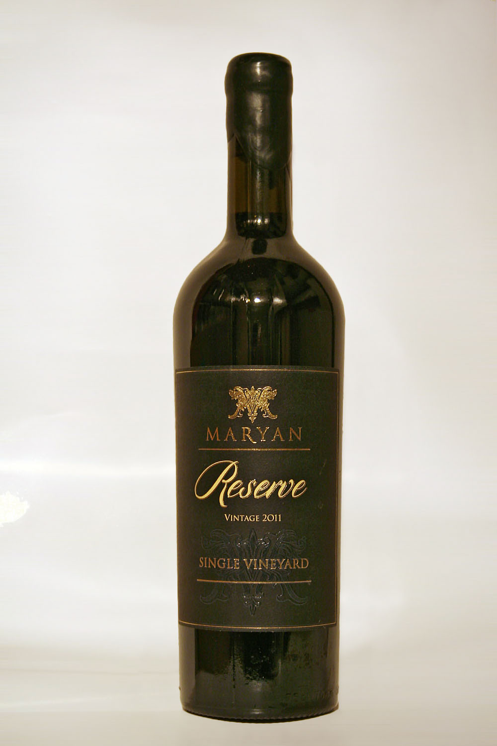 Maryan Reserve Single Vineyard 2011