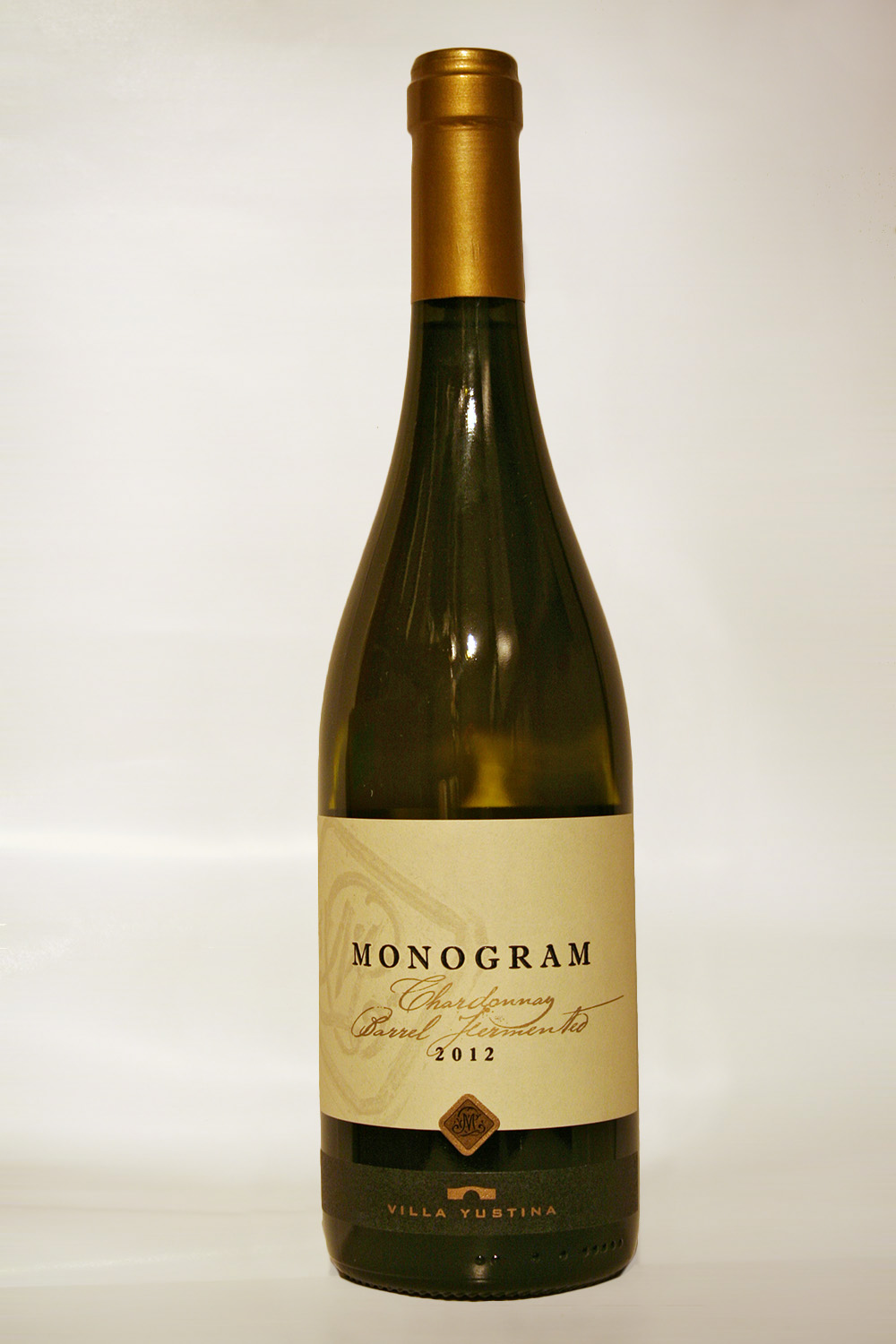 Monogram Chardonnay Barrel Fermented 2012