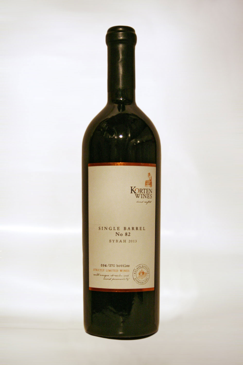 Korten Syrah Single Barrel 2013