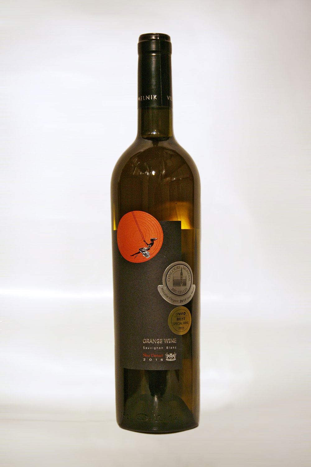 Villa Melnik Orange Wine Sauvignon Blanc 2016